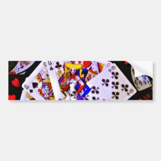 Joker Poker Bumper Sticker