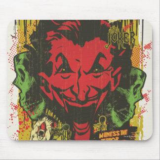 Joker Retro Comic Book Montage Mouse Pad