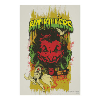 Joker Retro Comic Book Montage Posters
