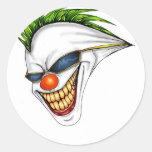 Joker Round Sticker
