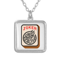 Joker Silver Plated Necklace