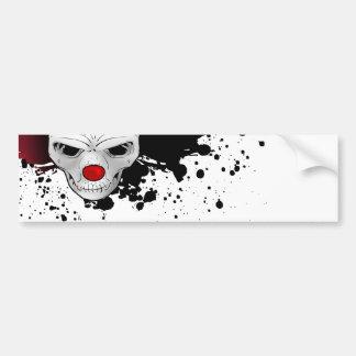 joker skull bumper sticker