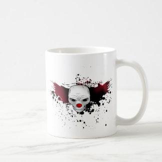 joker skull coffee mug