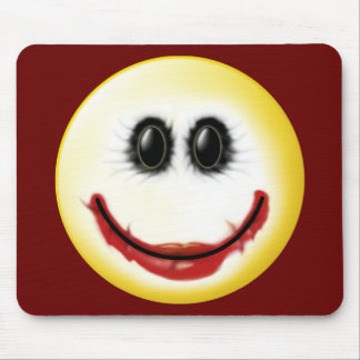 Joker Smiley Face Mouse Pad