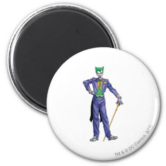 Joker stands with Cane Magnet