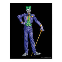 Joker stands with Cane Postcard