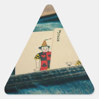 joker triangle stickers
