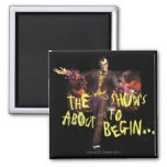 Joker - The Show's About To Begin� Refrigerator Magnet