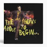 Joker - The Show's About To Begin� Vinyl Binder