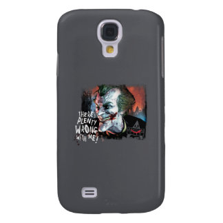 Joker - There's Plenty Wrong With Me! Galaxy S4 Cover
