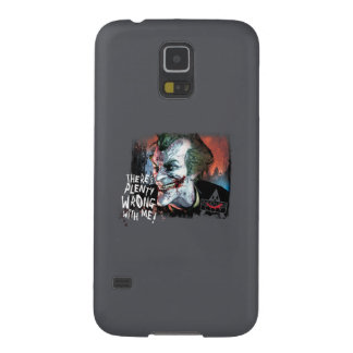 Joker - There's Plenty Wrong With Me! Galaxy S5 Cover