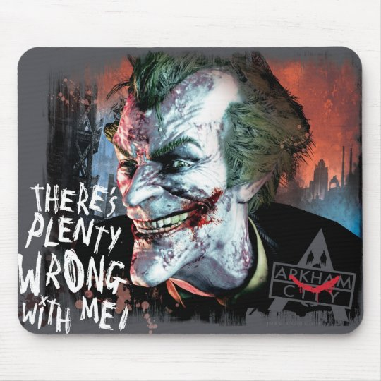 Joker - There's Plenty Wrong With Me! Mouse Pad