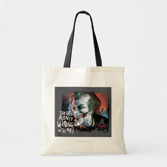 Joker - There's Plenty Wrong With Me! Tote Bag