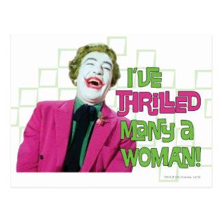 Joker - Thrill Postcard