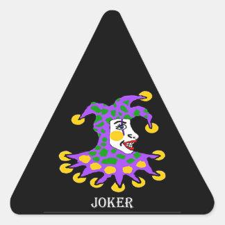 Joker Triangle Sticker