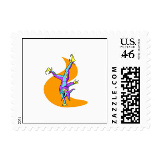 Joker Tumbling Stamp