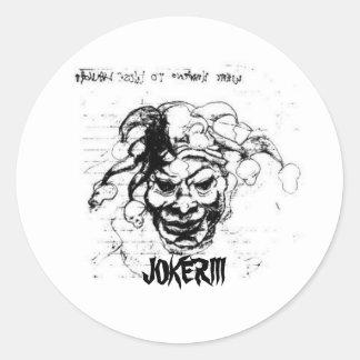 JokerIII, JOKERIII Etiqueta Redonda
