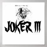 JokerIII, poster