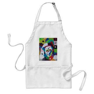 Jokers wild adult apron