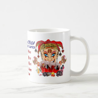 Joker's Wild Anywhere Coffee Mug