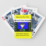 Jokers Wild Custom Image Players Cards Deck Of Cards