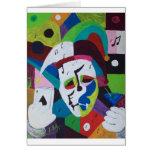Jokers wild greeting card