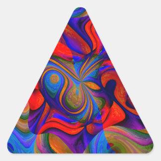 Jokers Wild Triangle Sticker