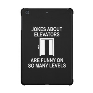 Jokes About Elevators iPad Mini Covers
