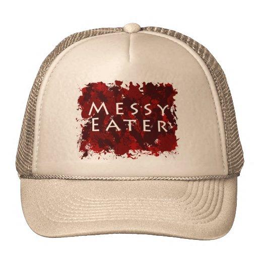 Jokes and Humor - Messy Eater Mesh Hat