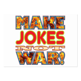 Jokes Make X Large Business Cards (Pack Of 100)