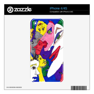 """""""Jokesters"""" iPhone 4/4S Skins For iPhone 4S"""