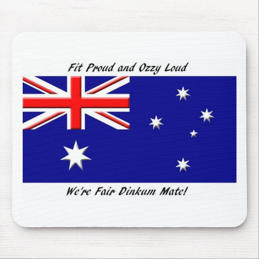 Jokey Australian Flag Mouse Pads