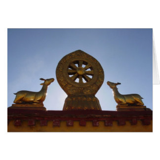 Jokhang Temple Roof Greeting Card