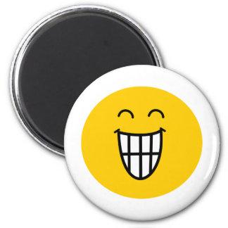 Joking around Smiley face Magnet