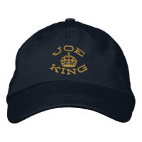 Joking Keep Calm Embroidered Hats