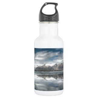 Jokulsarlon glacial lagoon, Iceland Water Bottle