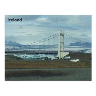 Jökulsárlón glacial lagoon, South East Iceland (A) Postcard