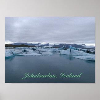 Jokulsarlon, Iceland - Glacier Lagoon poster