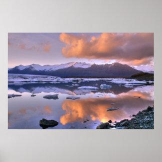 Jokulsarlon Lake Iceland Print