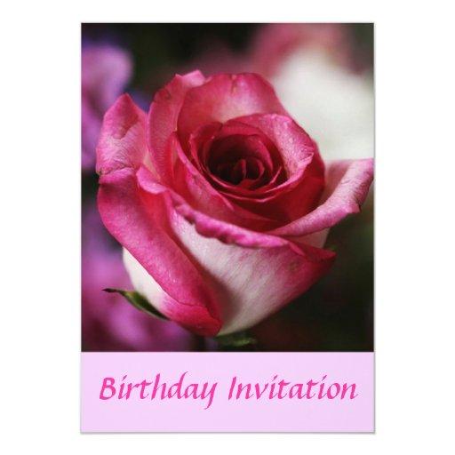 Jolene subió la invitación del cumpleaños invitación 12,7 x 17,8 cm