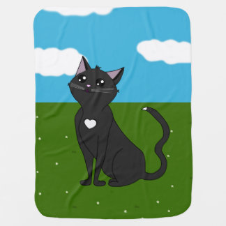 Jolia the Cat, Admire Me! Outside set. Swaddle Blanket