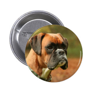 Jolie in the woods pinback button