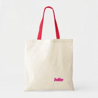 Jolie's canvas bag