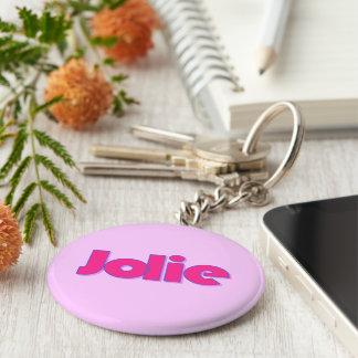Jolie's key chain