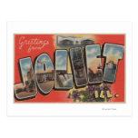 Joliet, Illinois - Large Letter Scenes 2 Postcard