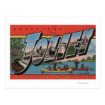 Joliet, Illinois - Large Letter Scenes Postcard