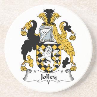 Jolley Family Crest Beverage Coaster