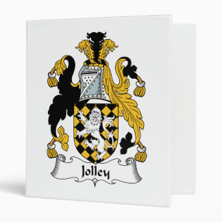 Jolley Family Crest Binder