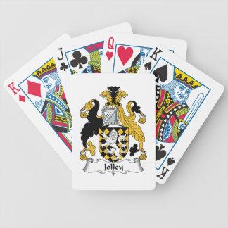 Jolley Family Crest Card Deck