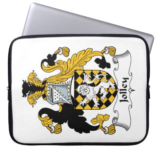 Jolley Family Crest Computer Sleeves
